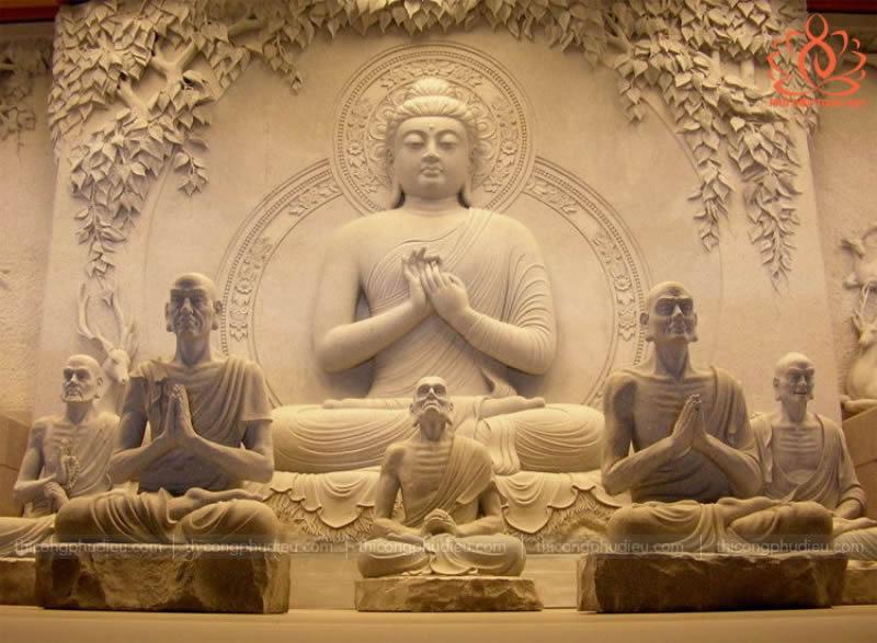 Điêu khắc đắp đúc tượng Phật giáo
